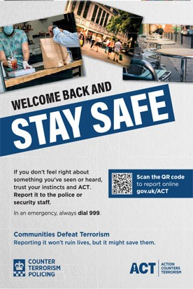 Welcome Back And Stay Safe1